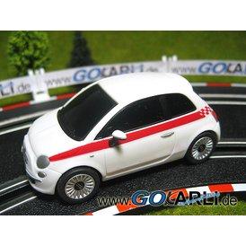 Carrera GO Fiat 500 weiß