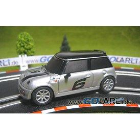 Carrera GO Mini Cooper S silber