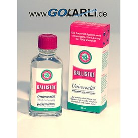 Ballistol 50 ml in der Glasflasche