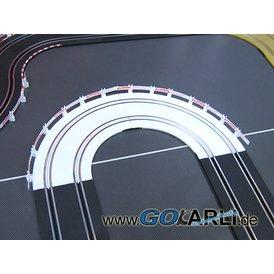 Carrera GO / Digital 143 Kurve 1 Eis 90 Grad Eiskurve OVP