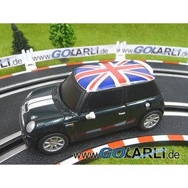 Carrera GO Mini Cooper S British Racing Green