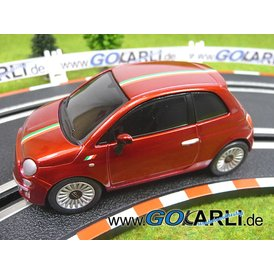 Carrera GO Fiat 500 rot