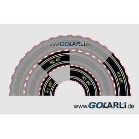 Carrera GO / Digital 143 Kurve 3 45 Grad OVP