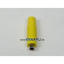 Schnepp Kupplung 4 mm Ø gelb Schraubanschluss