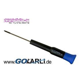 Cora-X Schraubendreher Kreuz PH0 3,00x60 mm
