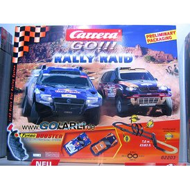 Carrera GO Rally Raid 62203 Set / Grundpackung
