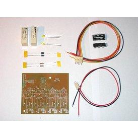 Light and Time USB Bahnstromabschaltung 2 Spur Bausatz