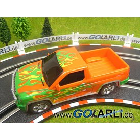 Carrera GO!!! PickUp Truck Wild Orange