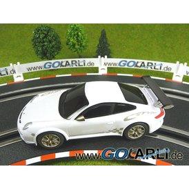 Carrera GO!!! Porsche GT3 RS Carrera weiß/gold Aktion