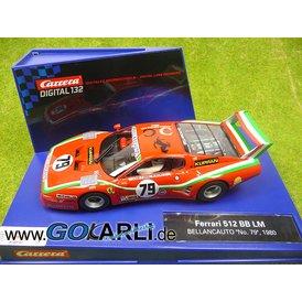 Carrera Digital 132 Ferrari 512 BB LM Bellancauto Nr.79 1980