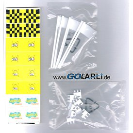 Carrera GO / Digital 143 Flaggen Spongebob