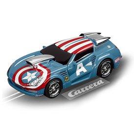Carrera GO!!! Marvel the Avengers Captain America Stormer