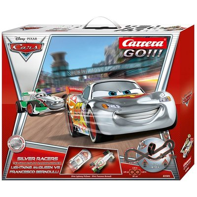 Carrera GO!!! Disney / Pixar Cars Silver Racers 62301 Set / Grundpackung