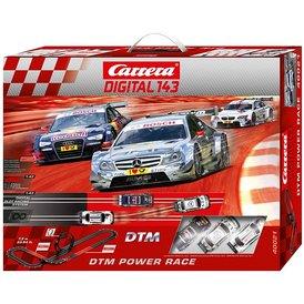 Carrera Digital 143 DTM Power Race / Grundpackung 40021