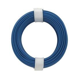 Kupferschalt Litze blau 0,14 mm 10m Ring wie BRAWA