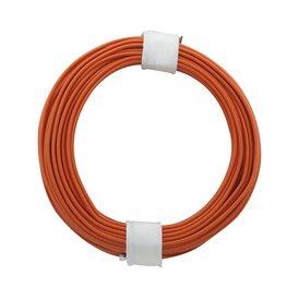 Kupferschalt Litze orange 0,14 mm 10m Ring wie BRAWA