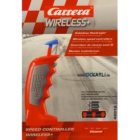 Carrera Digital 143 Wireless+ 2.4 GHz Handregler