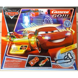 Carrera GO!!! Disney / Pixar Cars Neon Shift n Drift Set...