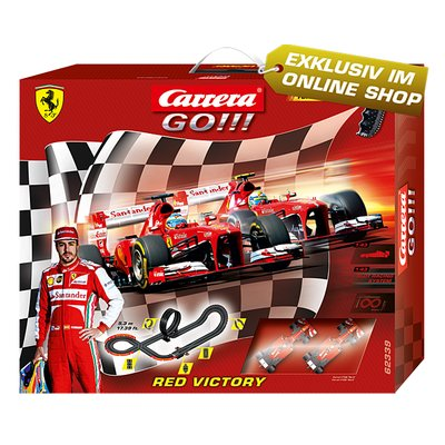 Carrera GO!!!Red Victory Set / Grundpackung 62339